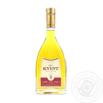 Kvint V.S. 3 stars cognac 40% 0,5l