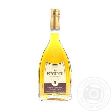 Kvint V.S.O.P. 5 yrs cognac 40% 0,5l
