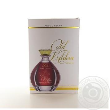 Бренди Old Kilikia X.O. 7 лет 40% 0.5л