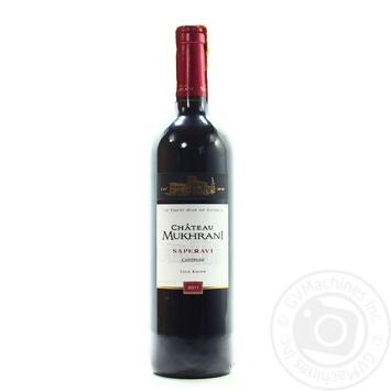 Chateau Mukhrani Saperavi red dry wine 12.5% 0,75l