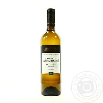Вино Chateau Mukhrani Ркацителі біле сухе 12.5% 0,75л