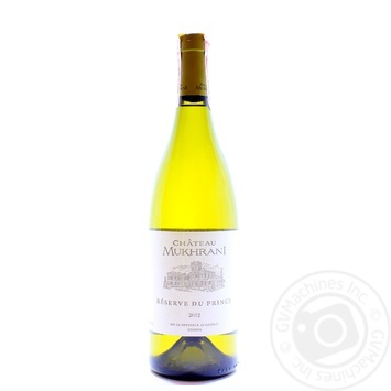 Chateau Mukhrani Reserve du Prince white dry wine 12% 0,75l - buy, prices for Novus - image 1