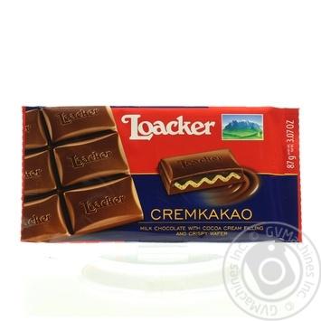 Шоколад Лоакер какао-крем