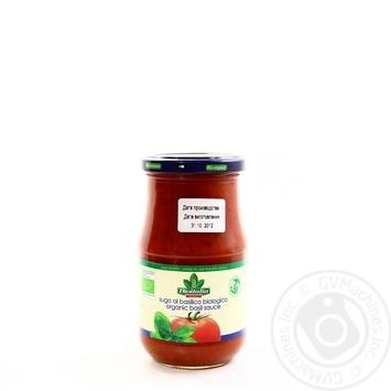 Соус Bioitalia томатный с базиликом 350г
