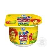 Йогурт Лактель Локо Моко яблоко-груша обогащенный кальцием омегой 3 и витамином D 1.5% 115г