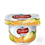 Dolce With Orange And Pear Yogurt