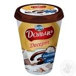 Десерт сирковий 3,4% кокос та шоколад Дольче стакан 0,4 кг
