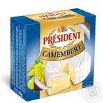Сир м'який 60% Камамбер President 90г