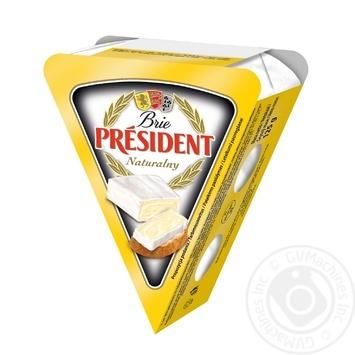 Скидка на Сыр Президент Бри мягкий 60% 125г