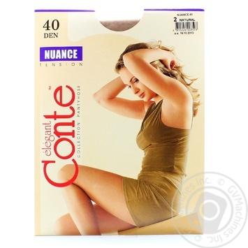 Колготи Conte Nuance 40 Den р.2 natural шт - купити, ціни на Novus - фото 4