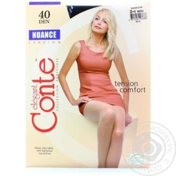 Колготы Conte Nuance 40 Den р.2 nero шт - купить, цены на Novus - фото 4