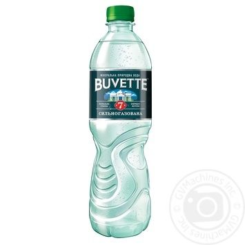 Water Buvette №7 strongly carbonated 500ml - buy, prices for Novus - image 1