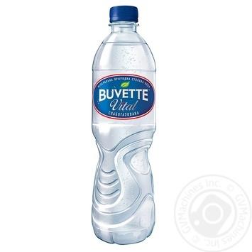 Вода Buvette Vital минеральная слабогазированная 0,5л - купить, цены на Фуршет - фото 1