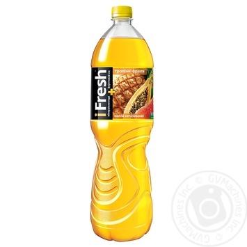 Напиток iFresh тропические фрукты негазированный 1,5л - купить, цены на Фуршет - фото 1