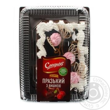 Торт Сладков Пражский с вишней 1800г