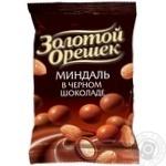 Драже Золотой Орешек миндаль черный шоколад 100г