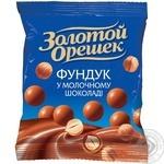 Драже Золотой Орешек фундук в молочном шоколаде 50г