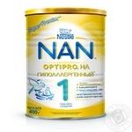 Смесь молочная Нестле Нан 1 Гипоаллергенный сухая для детей с рождения 400г