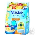 Каша молочная рисовая Nestle с бананом яблоком грушей 230г
