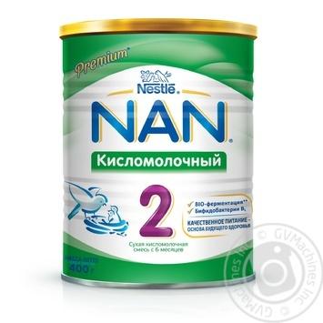 Смесь молочная Нестле Нан 2 Кисломолочный сухая для детей с 6 месяцев 400г