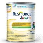 Смесь молочная Нестле Ресоурс Джуниор с ароматом ванили детская сухая с 1 года до 10 лет 400г