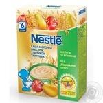 Каша мол. овес, рис з яблуком і грушею Nestle 200г