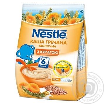 Каша молочна гречана з курагою Nestle 180г