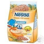 Каша молочная Nestle гречневая с 6 месяцев 180г