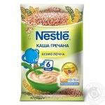Каша безмолочна Nestle гречана з 6 місяців 160г