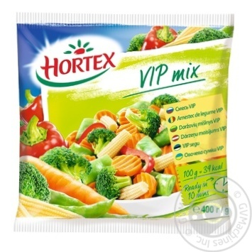 Овощная смесь Hortex VIP замороженная 400г - купить, цены на Novus - фото 1
