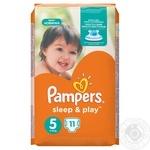 Подгузники детские Pampers Sleep & Play 5 Junior 11-18кг 11шт