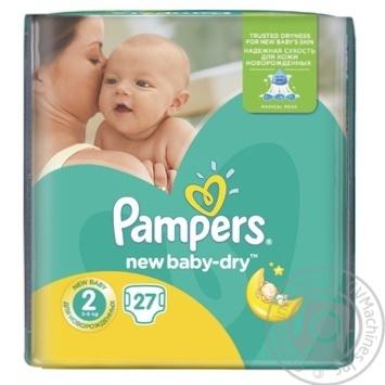 be72e6728eb0 Скидка на Подгузники детские Pampers New Baby-Dry 2 Mini 3-6кг 27шт ...
