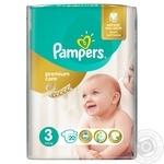 Подгузники Pampers Premium Care 3 Midi 5-9кг 20шт