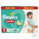 Трусики Pampers Pants Junior 5 12-18кг 96шт