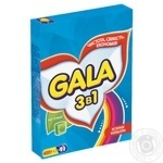 Пральний порошок Gala 3в1 Яскраві кольори автомат 400г