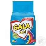 Стиральный порошок Gala Яркие цвета автомат 3кг