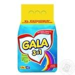 Laundry detergent powder Gala Bright colors 4500g