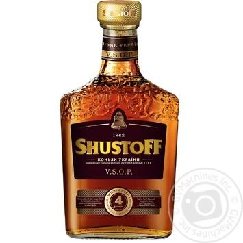 Shustov 4 Stars V.S.O.P Cognac 40% 0,5l