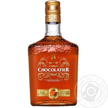 Shustoff Chocolatier Chocolate and Citron Cognac 30% 0,5l