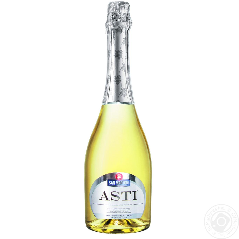 San Martino Salute Asti Sweet White Sparkling Wine