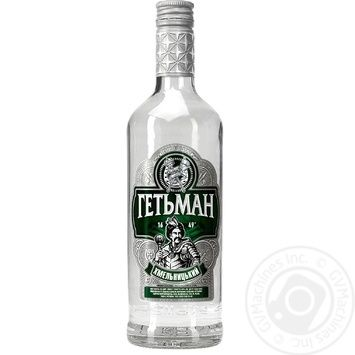 Нetman Hmelnitskyi Vodka on dill 0.5l - buy, prices for Furshet - photo 2