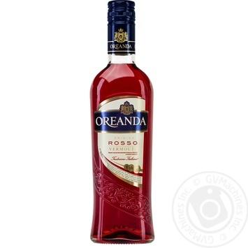 Вермут Oreanda Rosso 0.5л - купити, ціни на Фуршет - фото 1