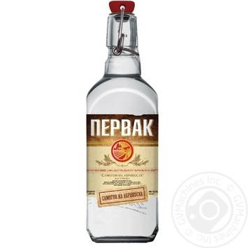 Водка Pervak на абрикосах 0,5л