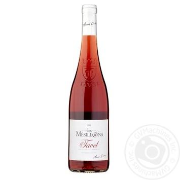 Вино A Dart les Mesillons Тавель розовое сухое 13% 0,75л