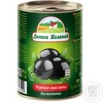 olive Dolina jelaniy black pitted 300ml - buy, prices for MegaMarket - image 1