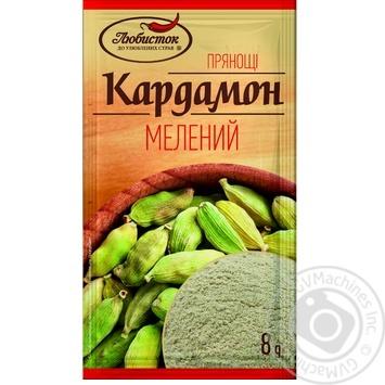 Пряности Кардамон молотый Любисток 8г - купить, цены на Novus - фото 3