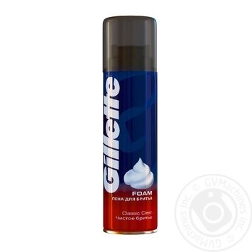 Gillete Classic Clean Shaving Foam - buy, prices for Novus - image 1