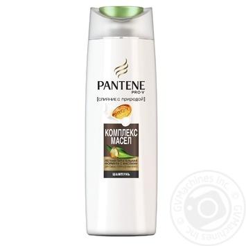 Шампунь Pantene Слияние с природой Oil Therapy система восстановления 400мл - купить, цены на МегаМаркет - фото 1