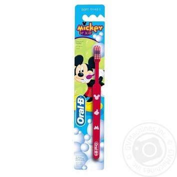 Зубная щетка Oral-B Kids Mickey экстра мягкая