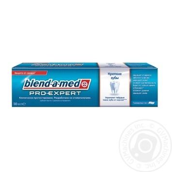 Зубна паста Blend-a-med Pro-Expert Міцна емаль 100мл - купити, ціни на МегаМаркет - фото 1